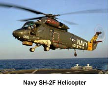 SH-2F Helicopter flown by Wiz